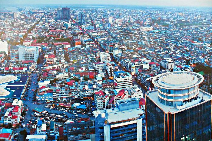 Gli alloggi ed il mercato immobiliare in Cambogia