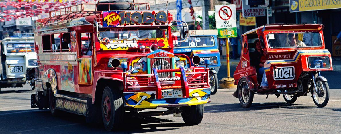 Il sistema dei trasporti nelle Filippine